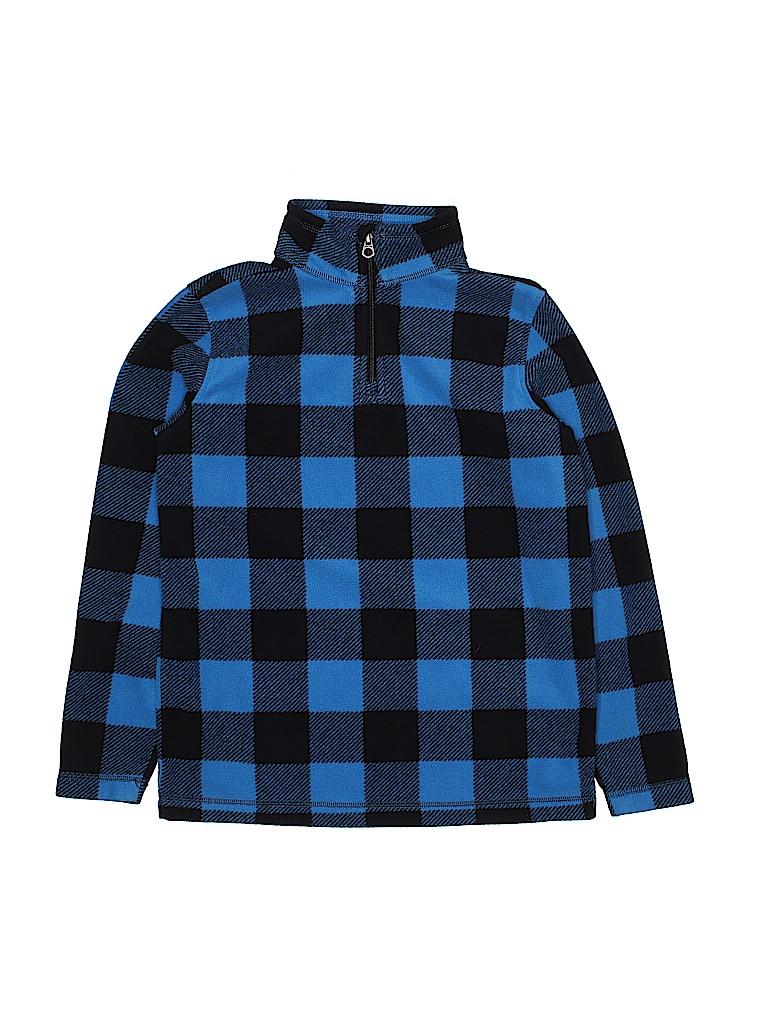 Lands' End Boys Fleece Jacket Size M (Youth)