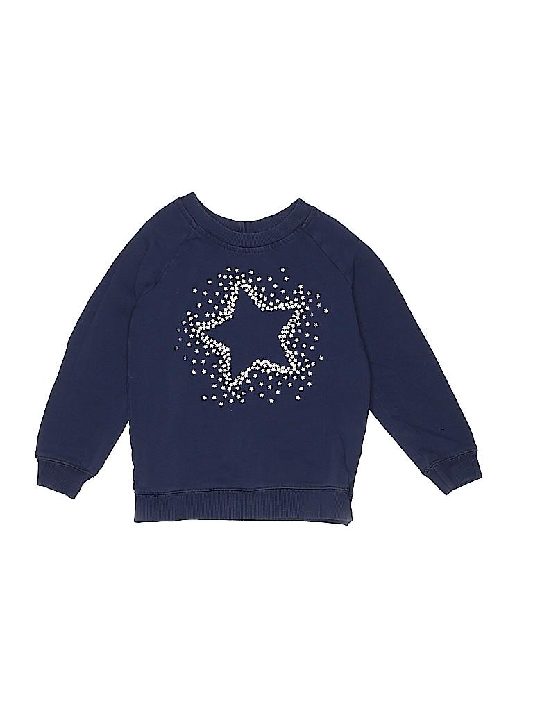 Hanna Andersson Girls Sweatshirt Size 110 (CM)