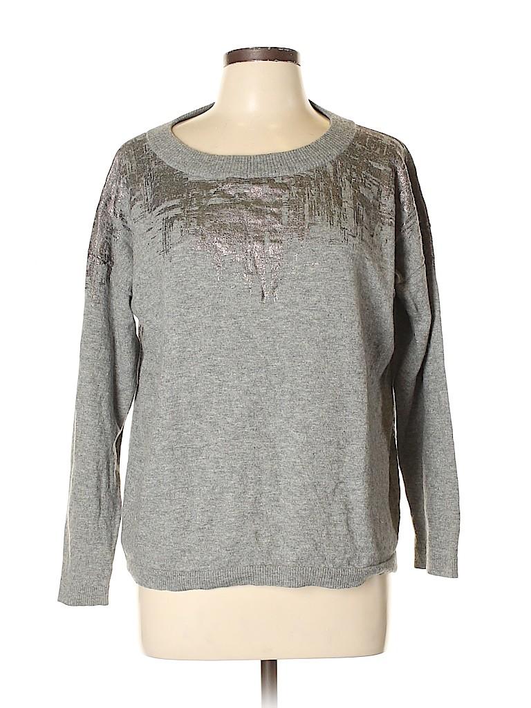 Lafayette 148 New York Women Wool Pullover Sweater Size XL
