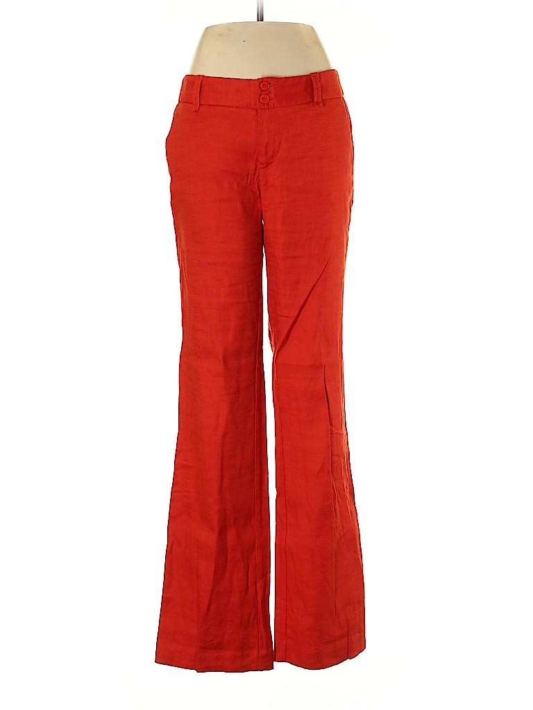 Elevenses Women Linen Pants Size 6