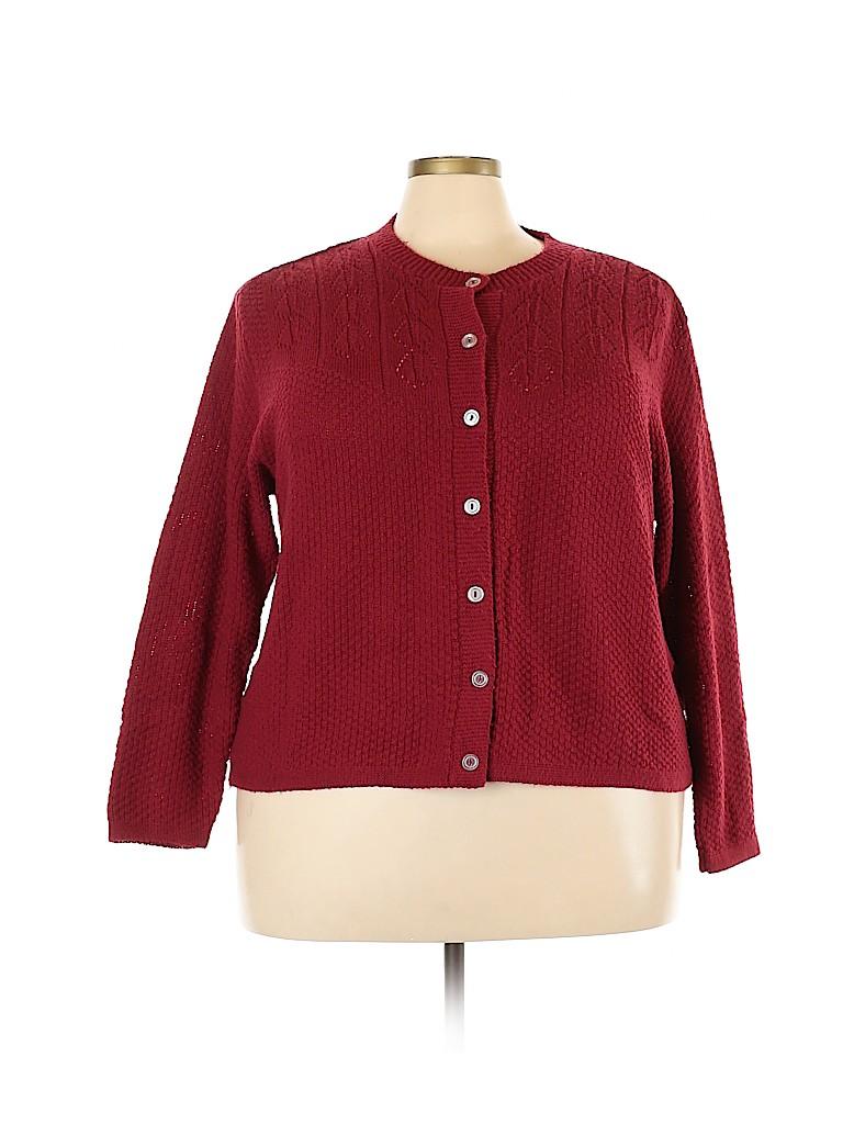 Blair Women Cardigan Size 2X (Plus)