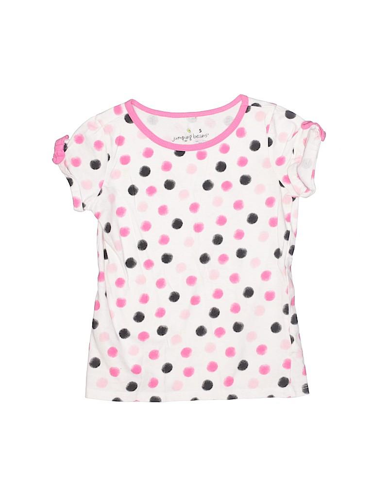 Jumping Beans Girls Short Sleeve T-Shirt Size 5