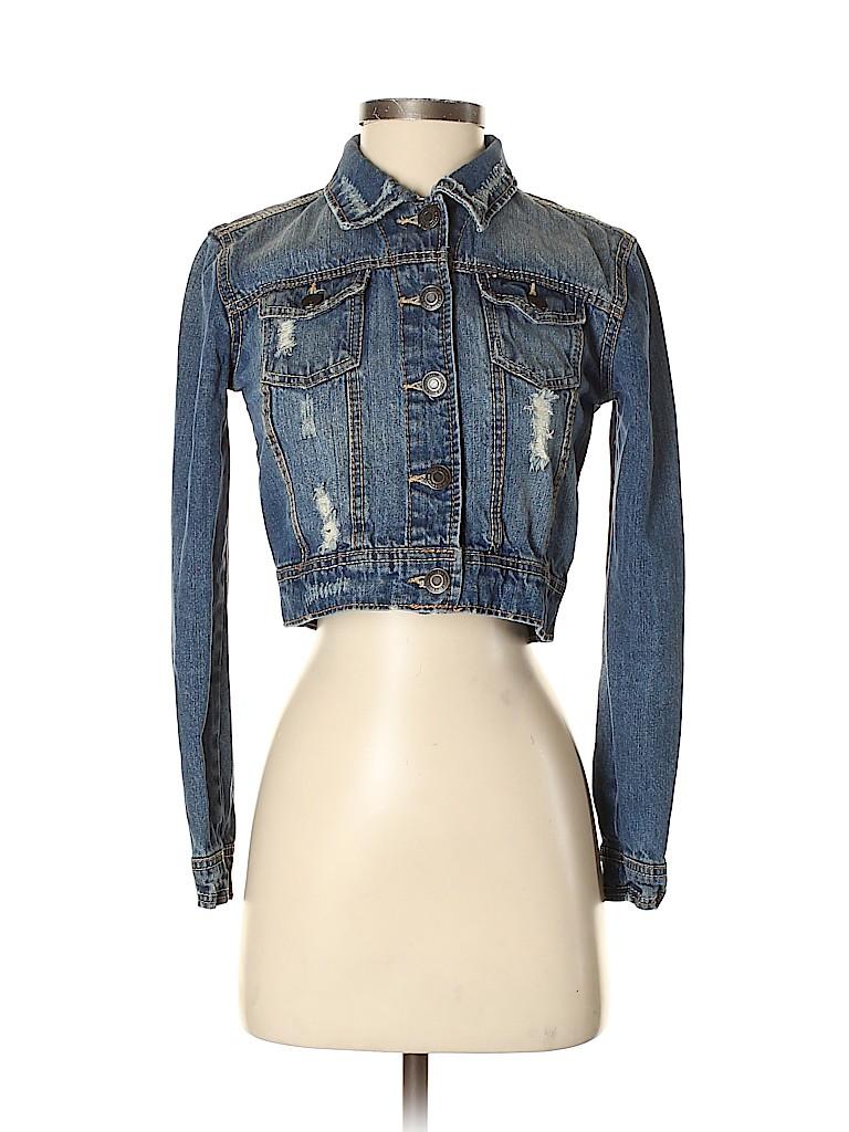 Rue21 Women Denim Jacket Size S