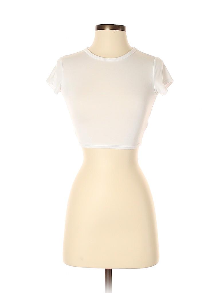 PrettyLittleThing Women Short Sleeve T-Shirt Size 2