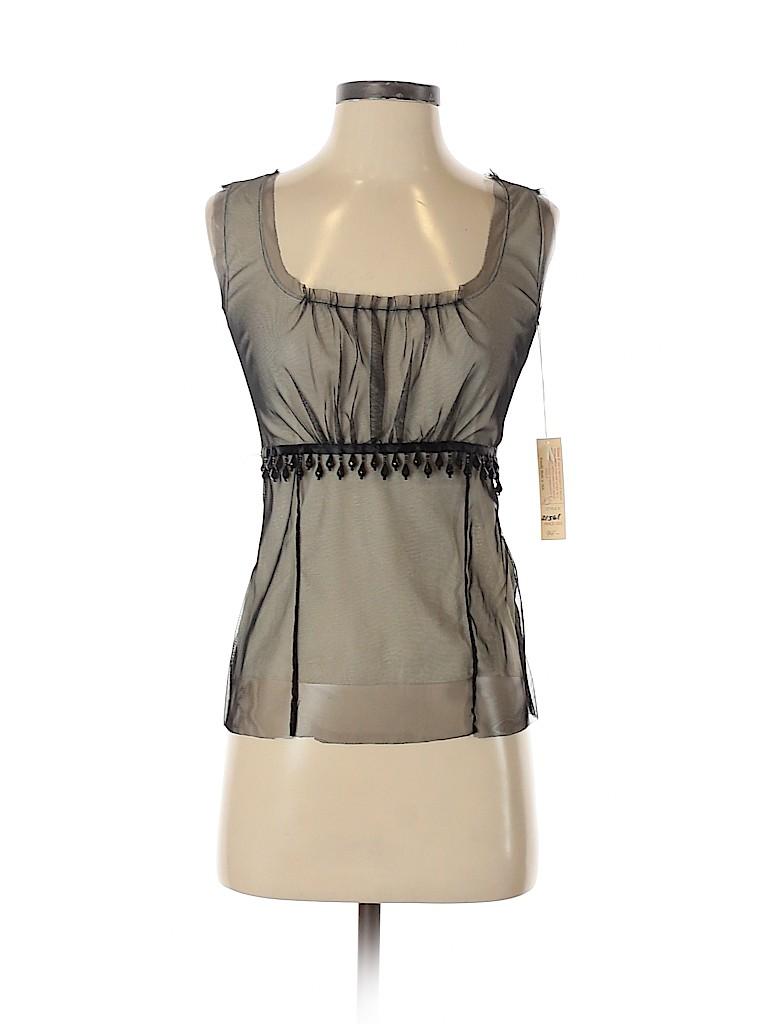 Petit Pois Women Sleeveless Blouse Size XS