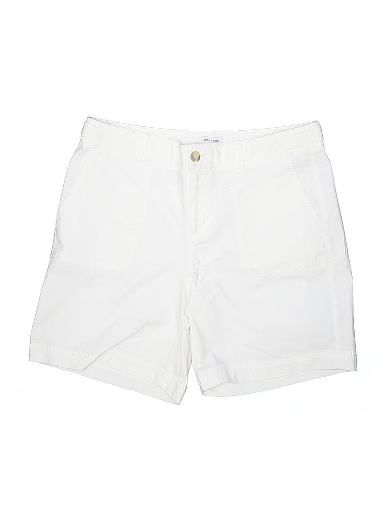 Dockers Women Khaki Shorts Size 12