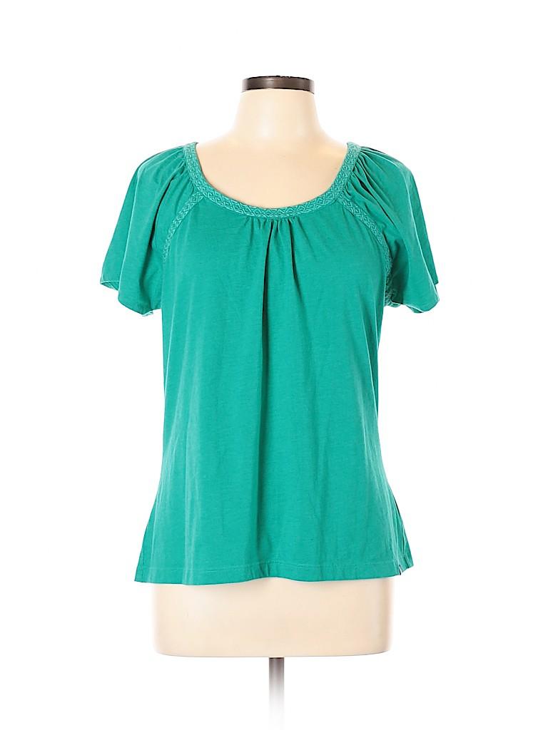 PrAna Women Short Sleeve Top Size L