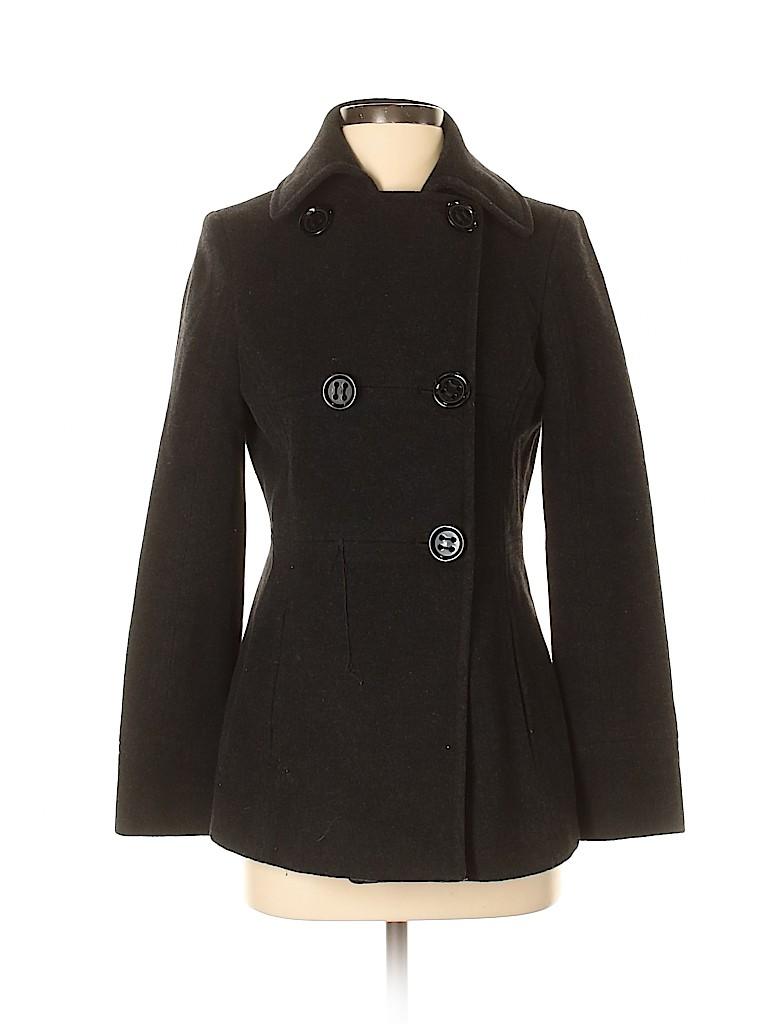 Kenneth Cole REACTION Women Wool Coat Size 2