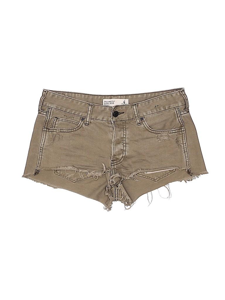 Abercrombie & Fitch Women Denim Shorts Size 4
