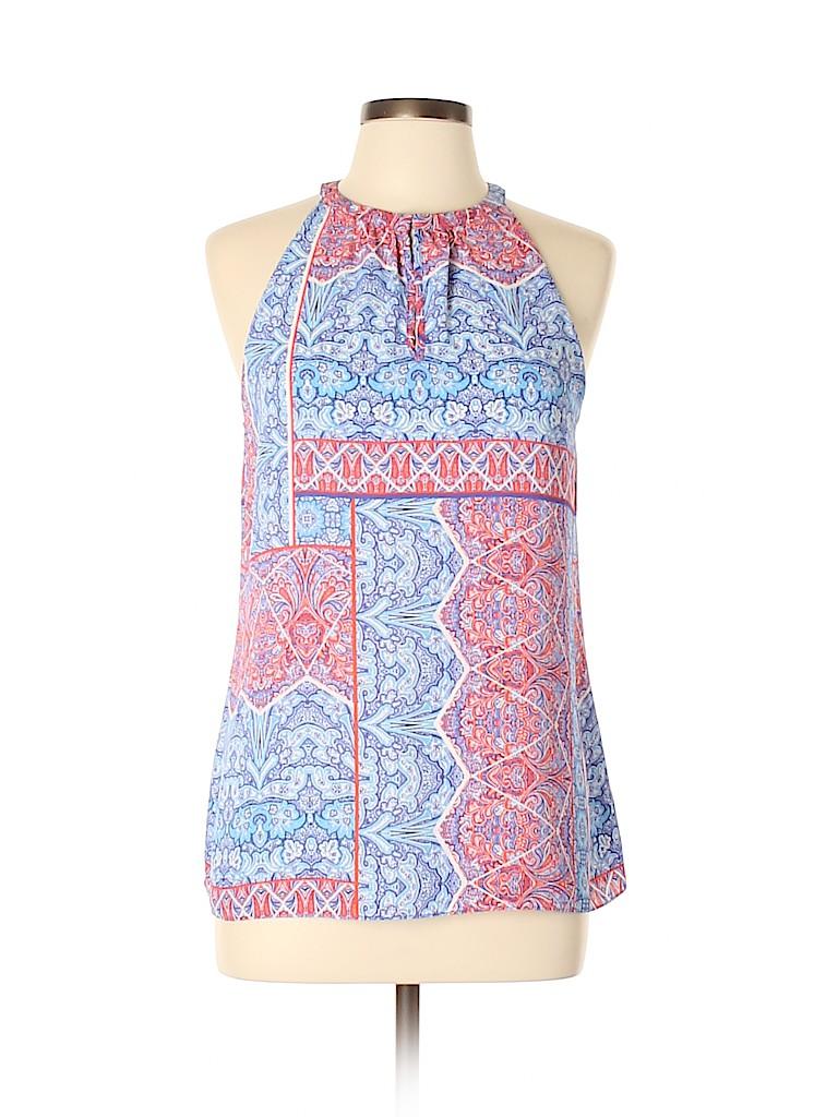 St. Tropez West Women Sleeveless Blouse Size L
