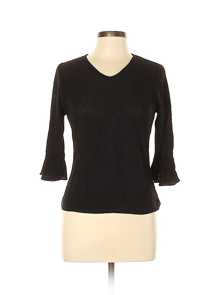Sarah Arizona Women 3/4 Sleeve Top Size L