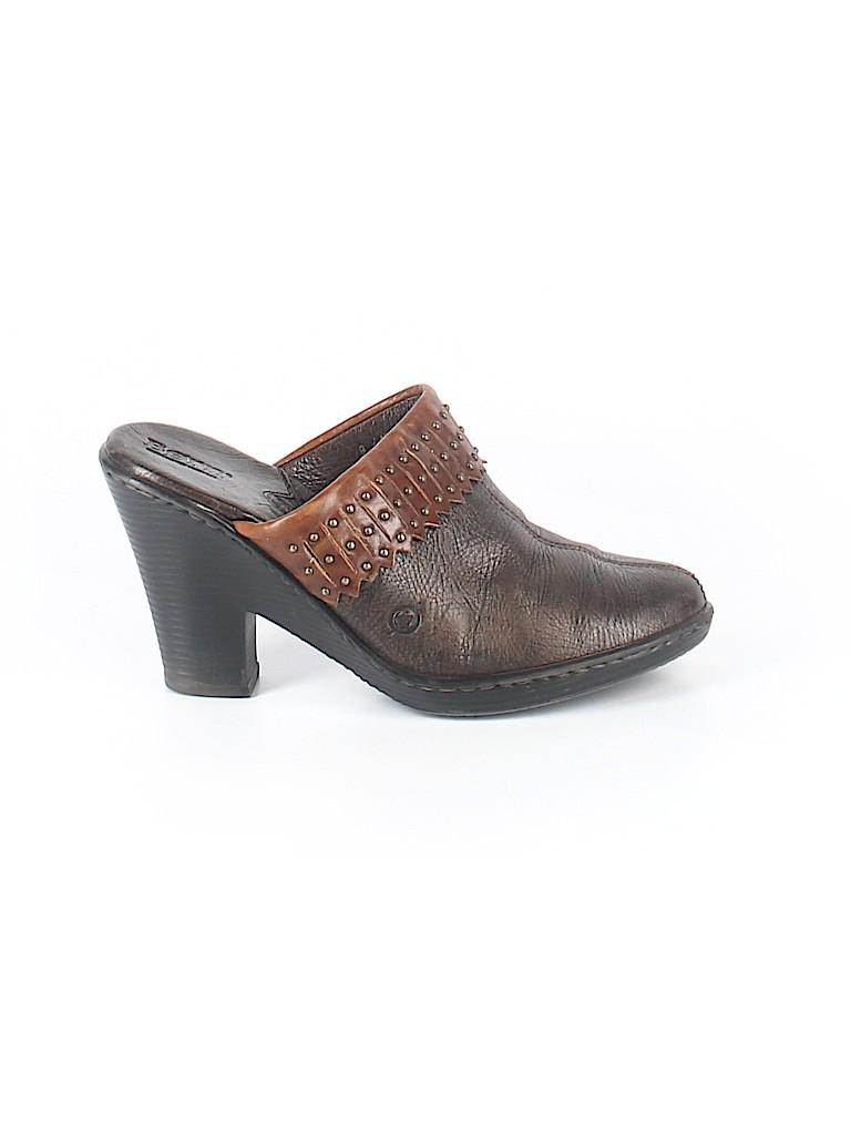 Born Handcrafted Footwear Women Mule/Clog Size 9