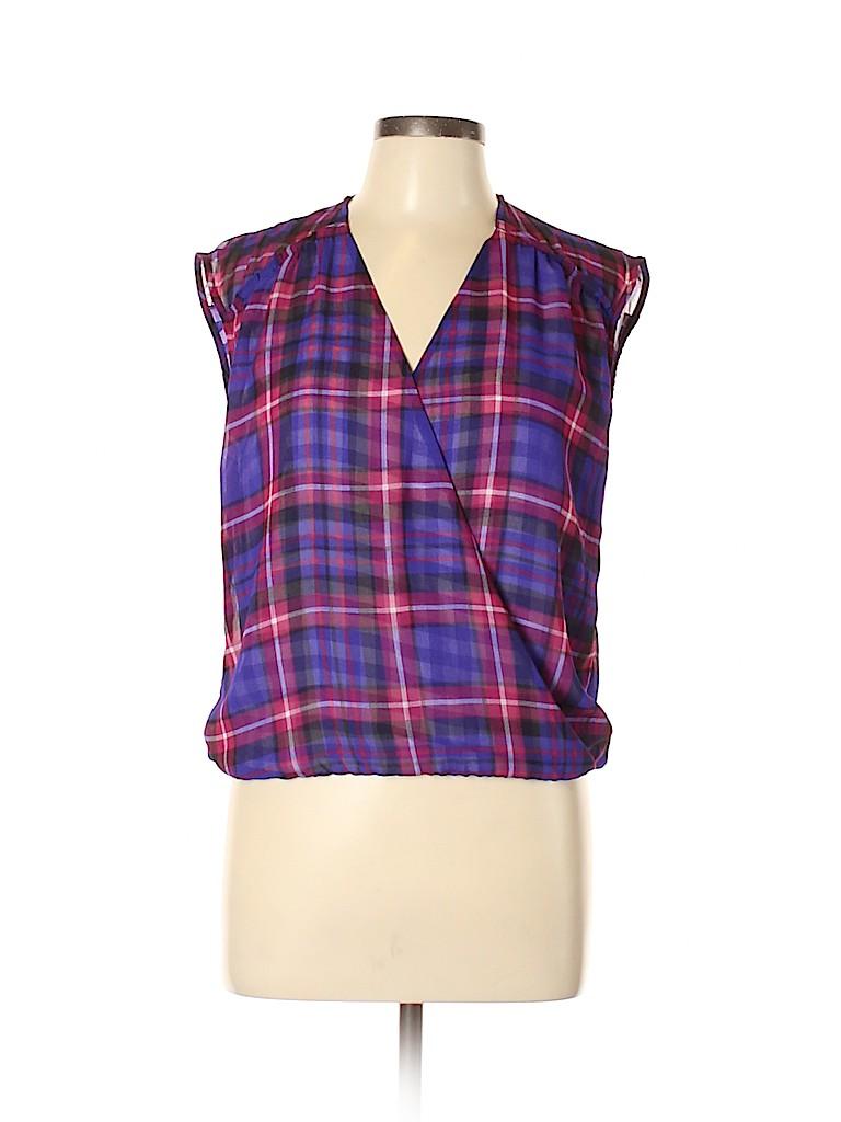Adrianna Papell Women Sleeveless Blouse Size L