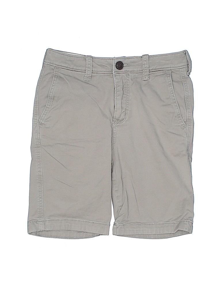 Abercrombie Boys Khaki Shorts Size 12