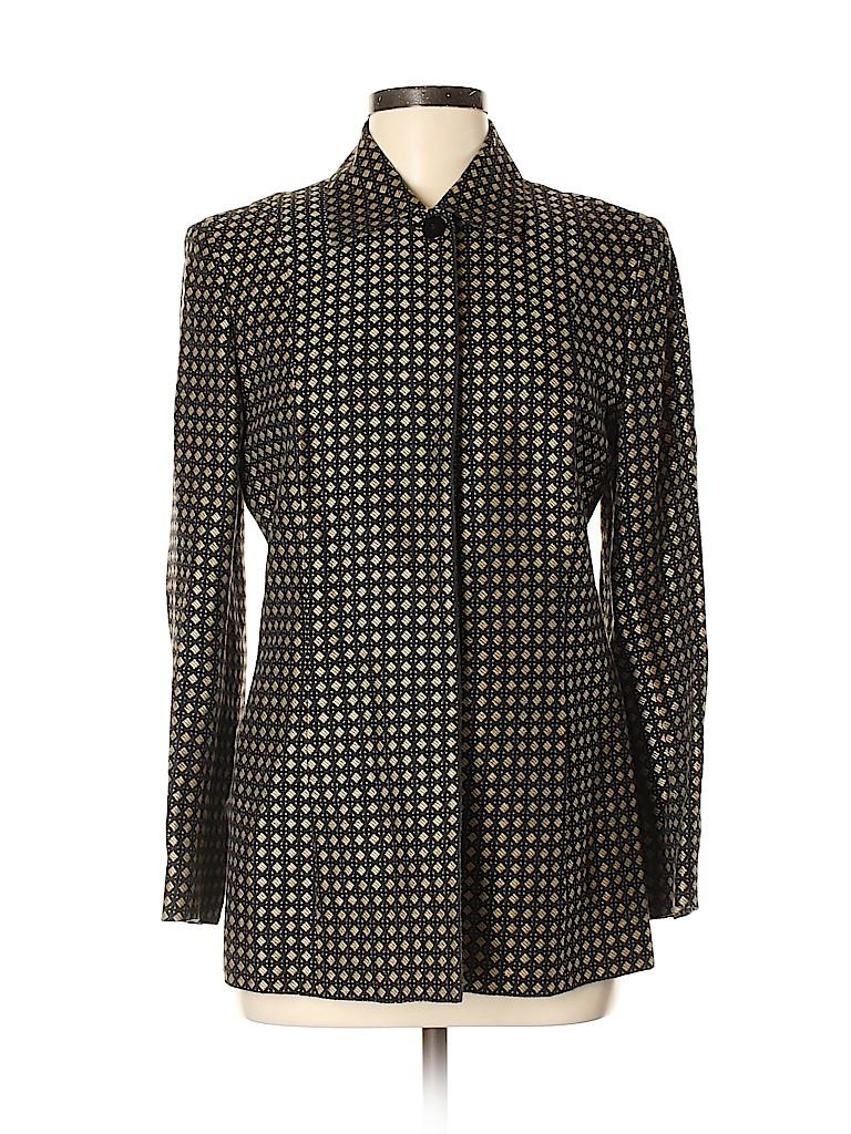 Dana Buchman Women Blazer Size 8 (Petite)