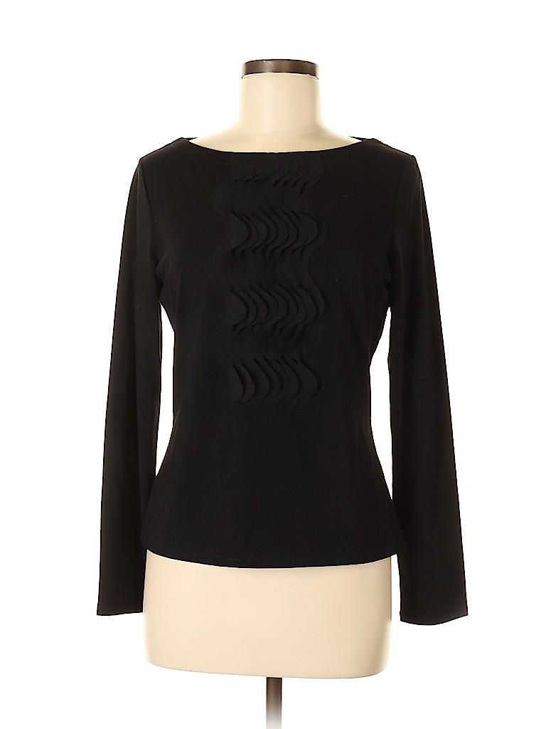 Etcetera Women Long Sleeve Top Size M