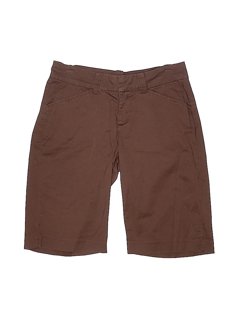 Lee Women Khaki Shorts Size 3 - 4 Petite (Petite)