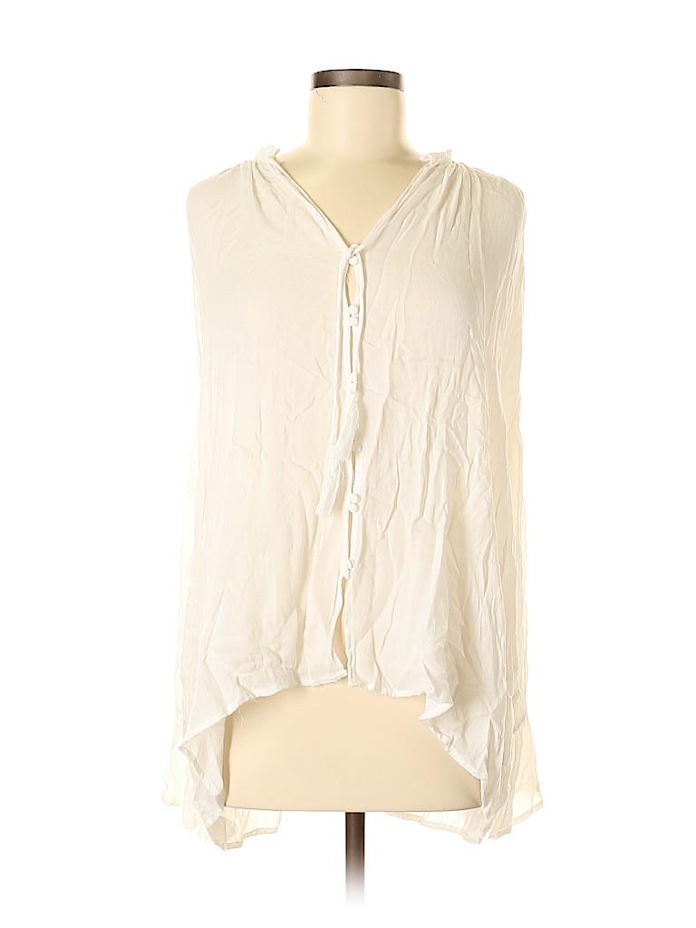 She + Sky Women Long Sleeve Blouse Size M