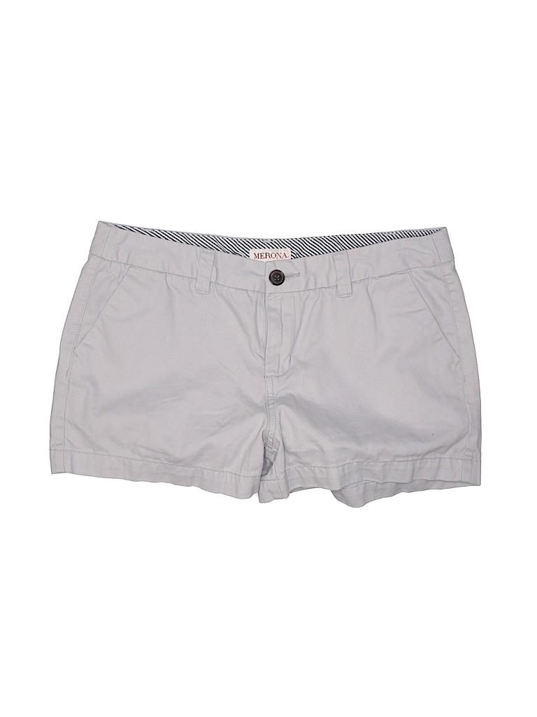Merona Women Khaki Shorts Size 6