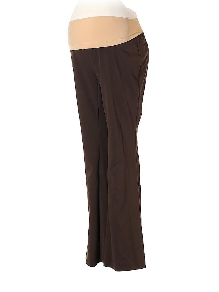 Oh Baby By Motherhood Women Dress Pants Size M (Maternity)