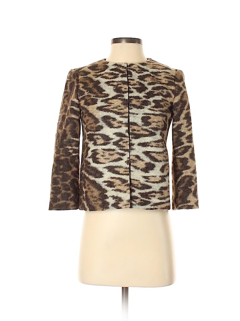 Ann Taylor Women Wool Blazer Size XXS (Petite)