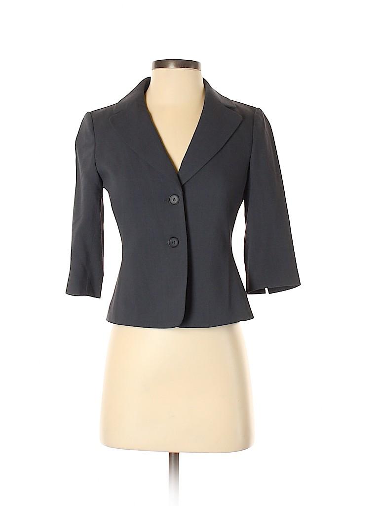 Ann Taylor Women Blazer Size 0 (Petite)