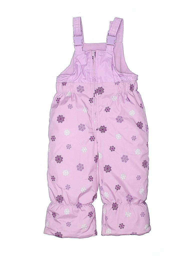 OshKosh B'gosh Girls Snow Pants With Bib Size 24 mo