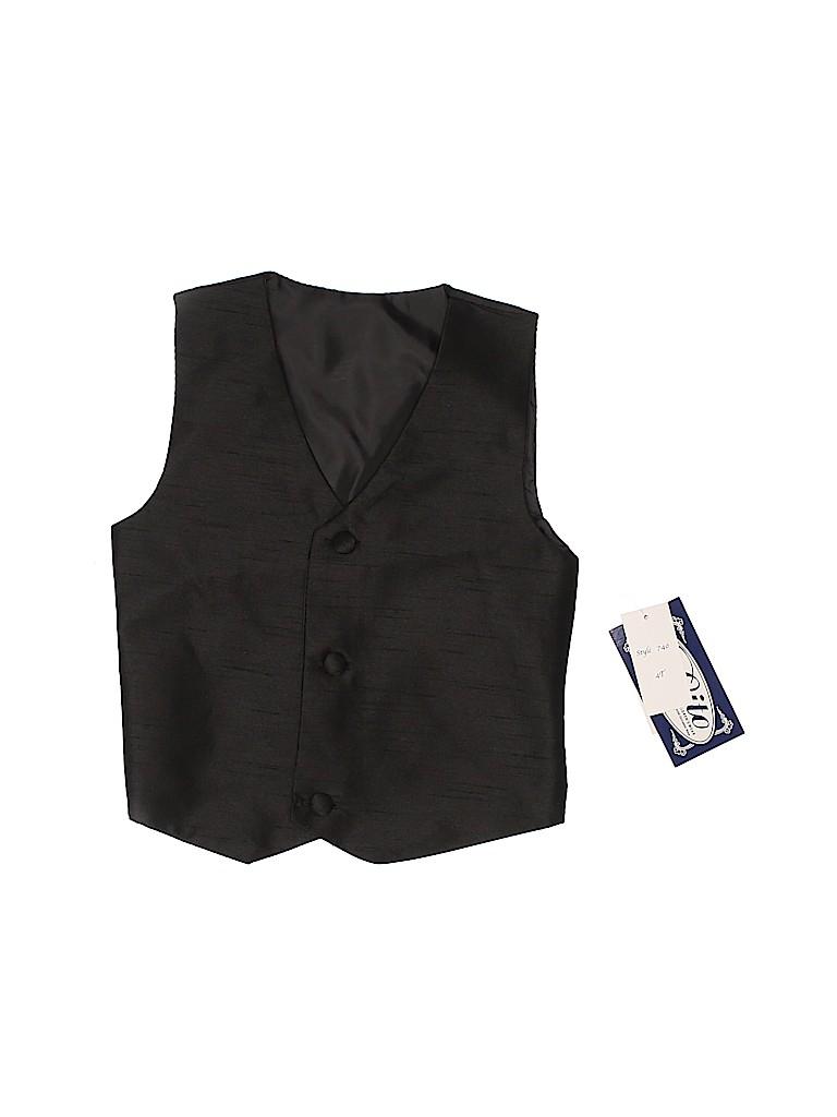 Lito Boys Tuxedo Vest Size 4T