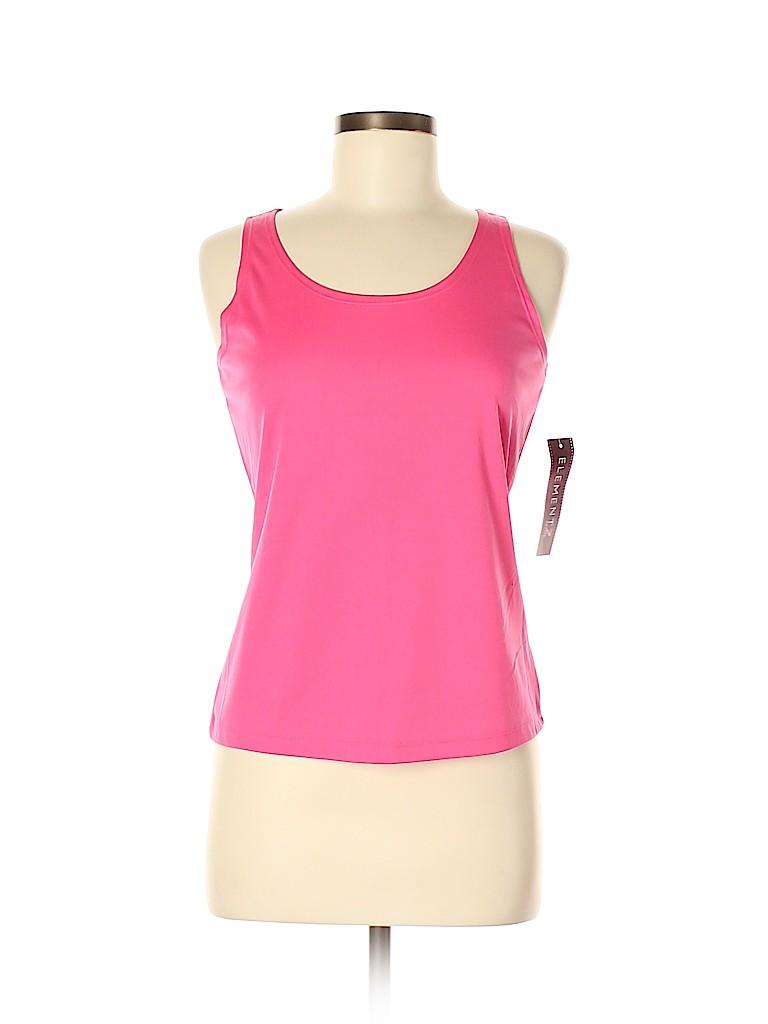 Elementz Women Sleeveless Blouse Size M (Petite)