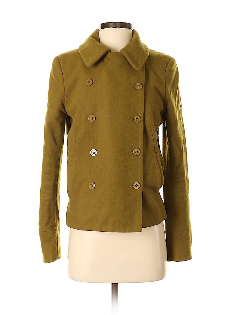 Sparkle & Fade Women Wool Coat Size 9