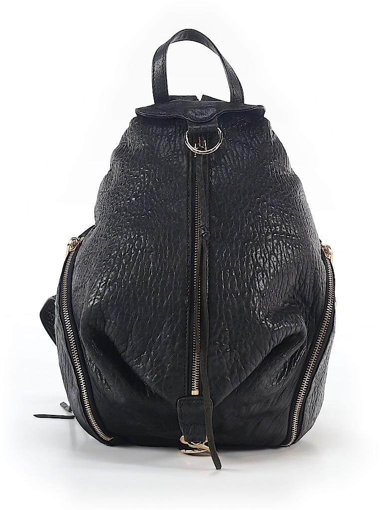 Rebecca Minkoff Women Leather Backpack One Size