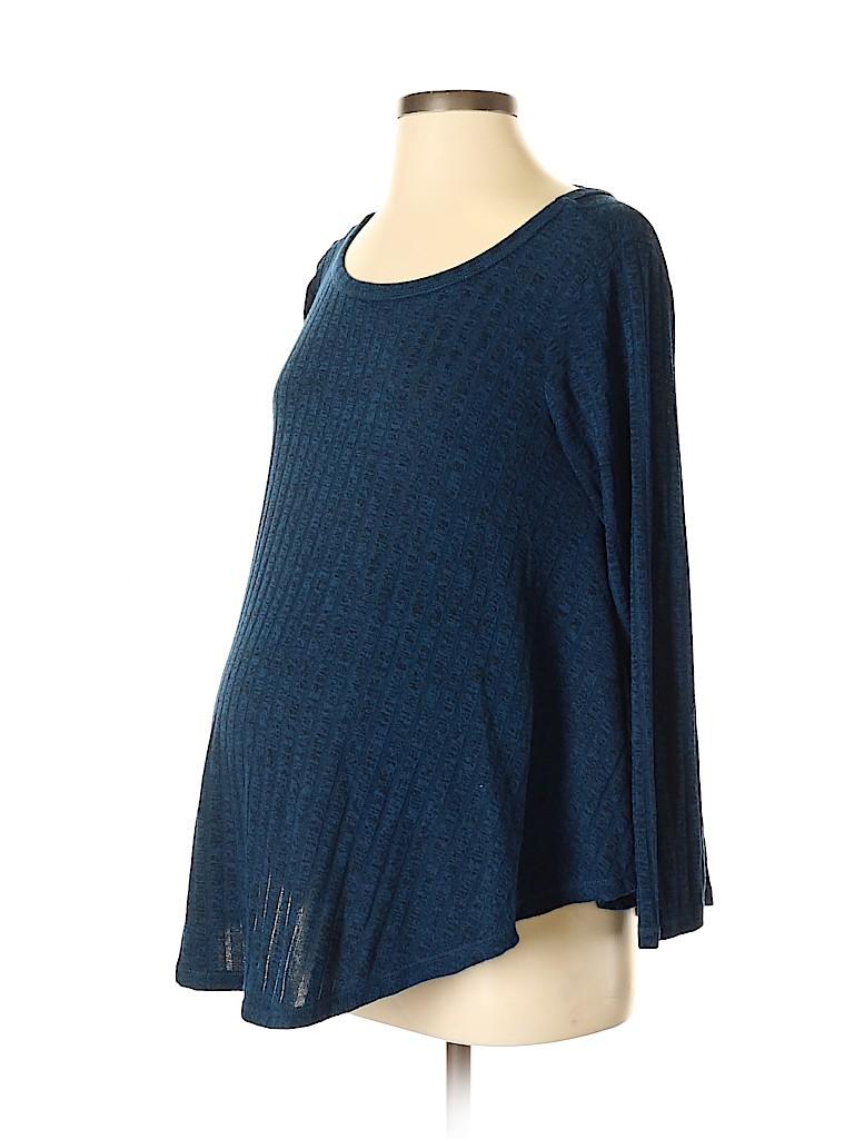 Inspire Maternity Women Long Sleeve Top Size S (Maternity)