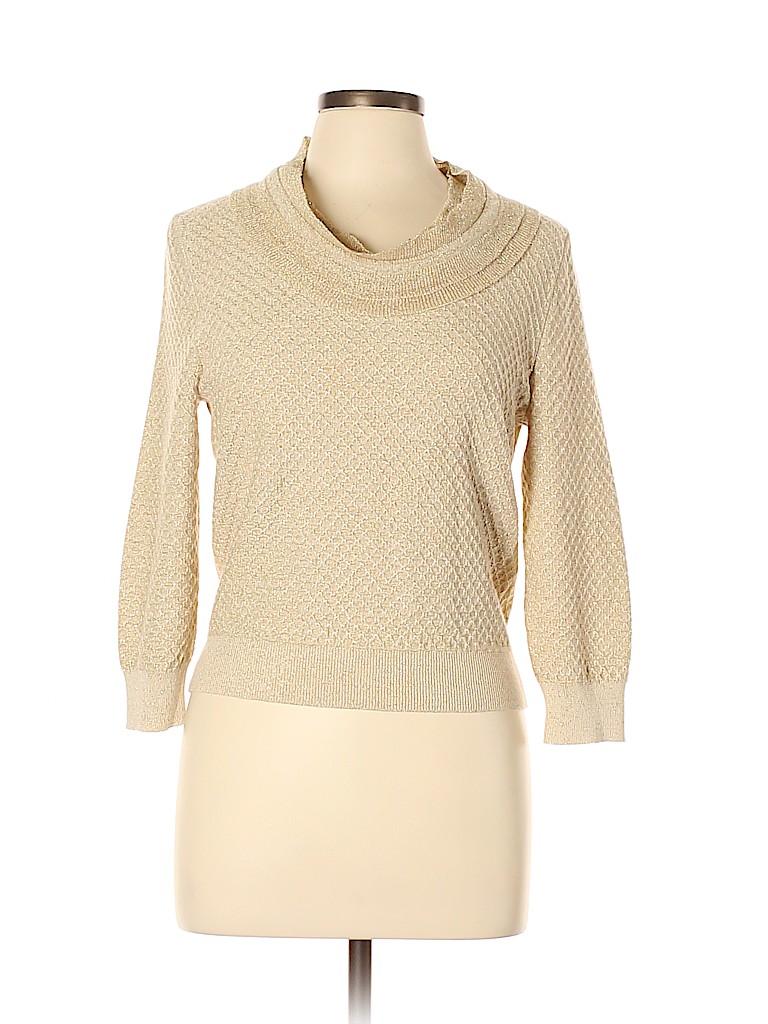 Leggiadro Women Cashmere Pullover Sweater Size L