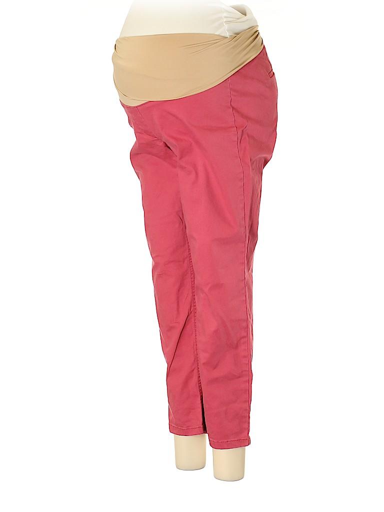 Ann Taylor LOFT Women Khakis Size 8 (Maternity)