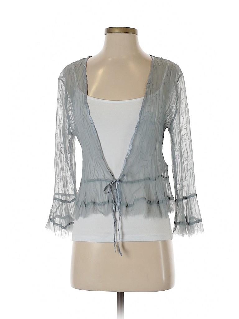 Komarov Women Long Sleeve Blouse Size S