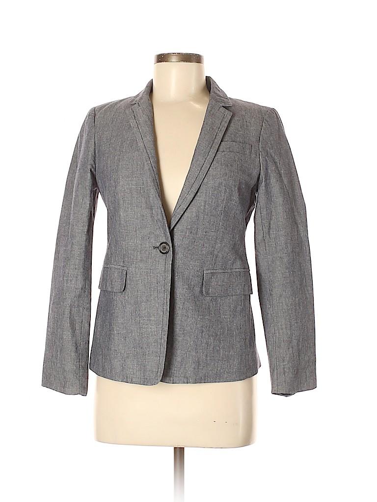 J. Crew Women Blazer Size 6 (Petite)