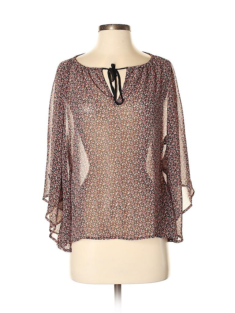 Patterson J. Kincaid Women Short Sleeve Blouse Size XS