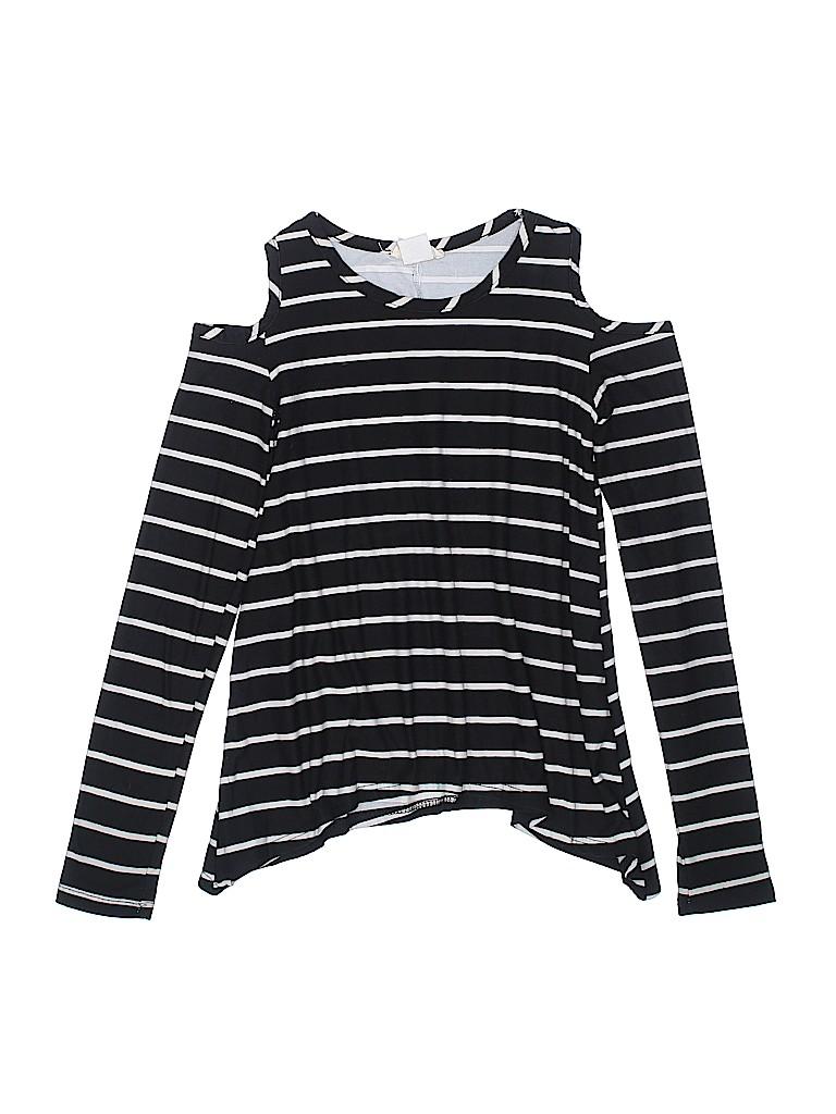 Btween Girls Long Sleeve Top Size 8