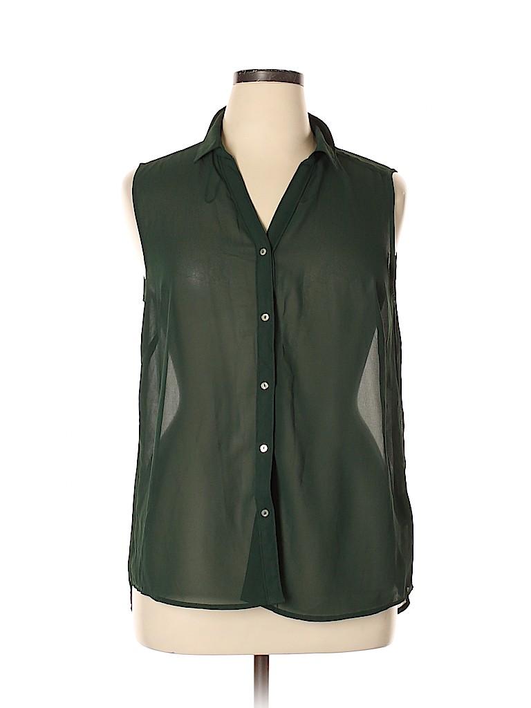 H&M Women Sleeveless Blouse Size 14