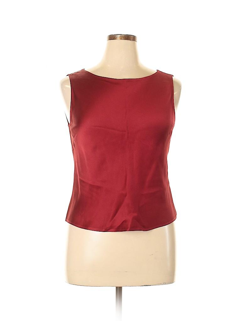 Lafayette 148 New York Women Sleeveless Blouse Size 14