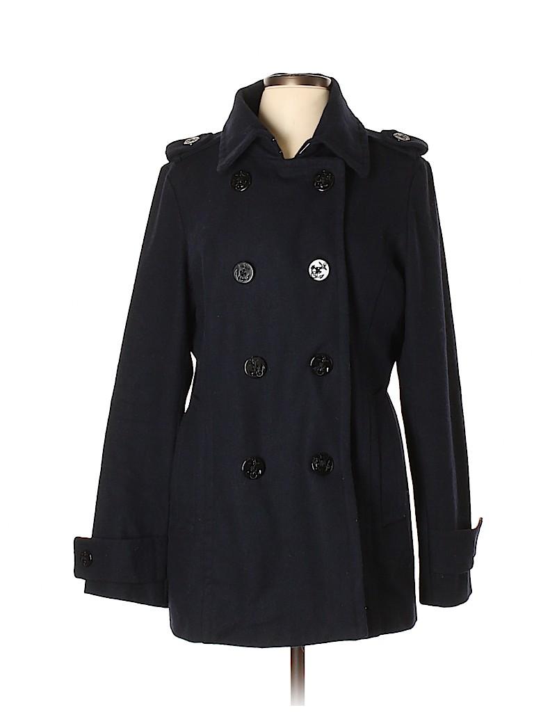 Delia's Women Wool Coat Size XL