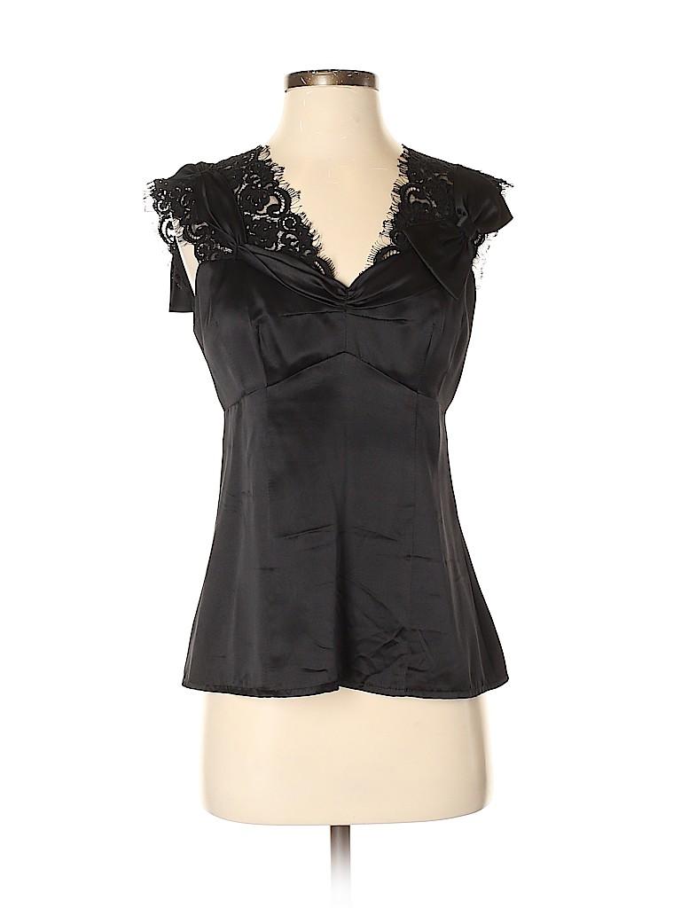 Nanette Lepore Women Sleeveless Silk Top Size 4