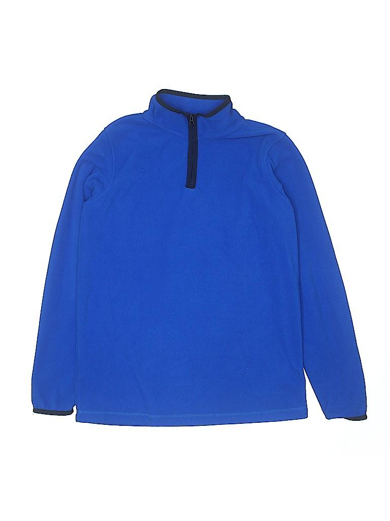 Lands' End Boys Fleece Jacket Size L (Youth)