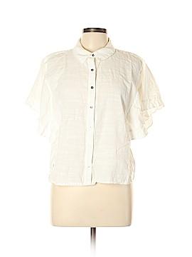 3110099f5db8fa Universal Thread Short Sleeve Button-Down Shirt Size L