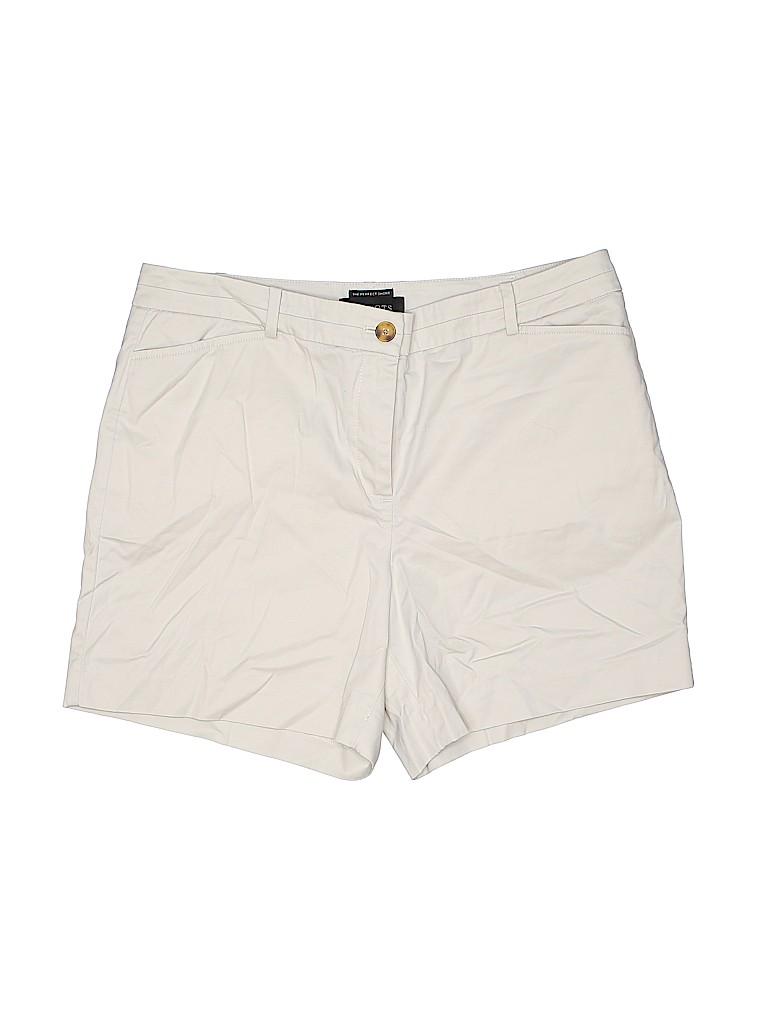 Talbots Women Khaki Shorts Size 10