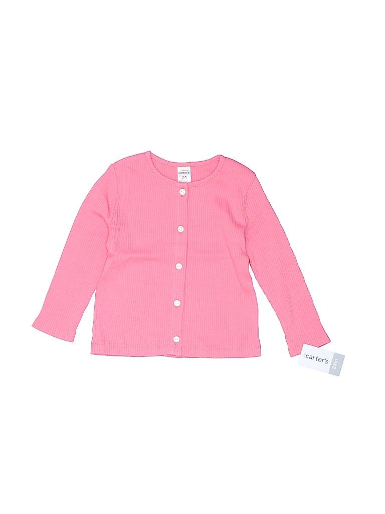 Carter's Girls Cardigan Size 24 mo