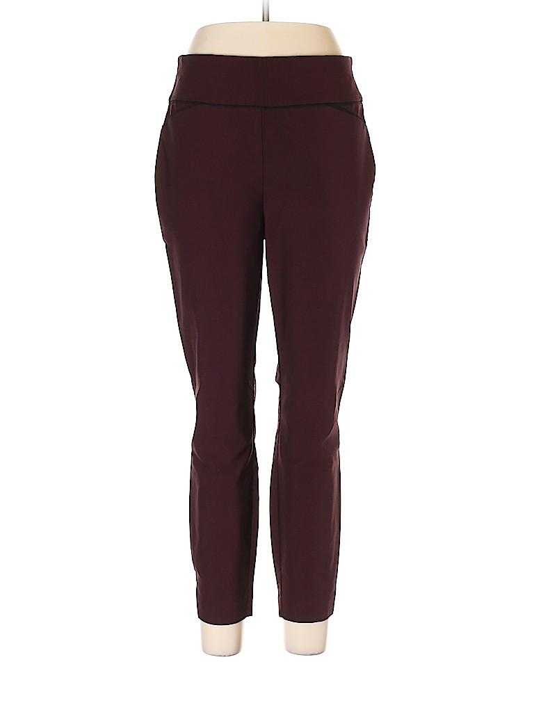 7th Avenue Design Studio New York & Company Women Casual Pants Size L