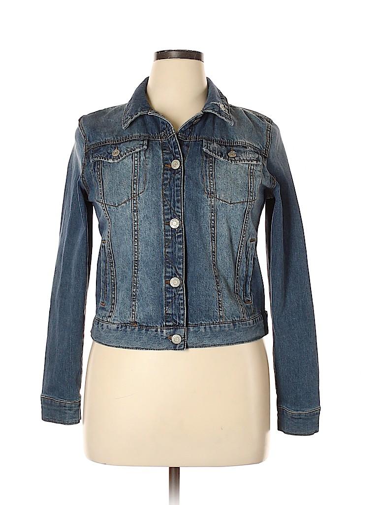 Mudd Women Denim Jacket Size XL