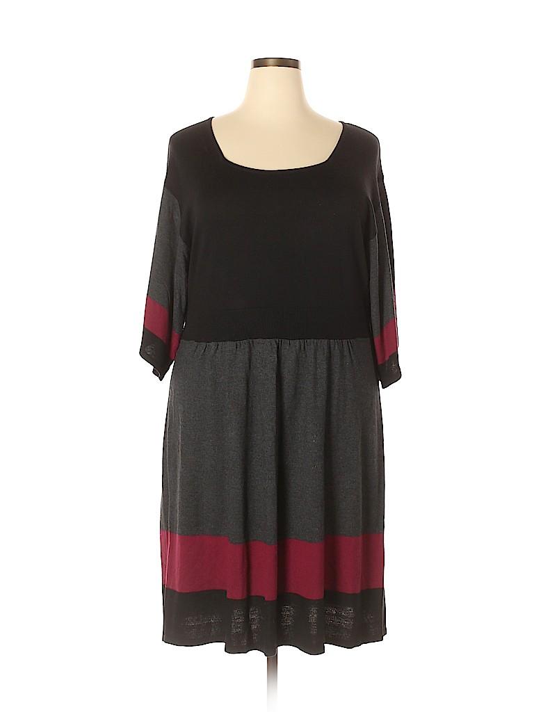 Spense Women Casual Dress Size 2X (Plus)