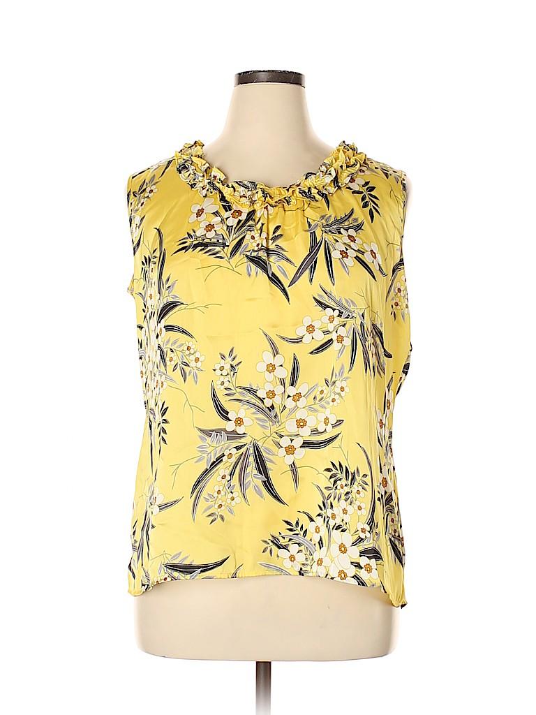 Elementz Women Sleeveless Blouse Size XL